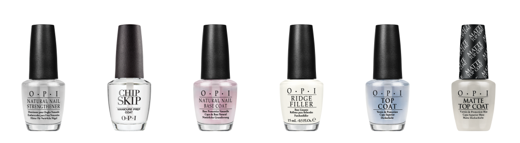 OPI nail polish lacquer and gel