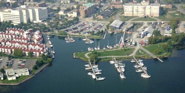 downtown Kingston waterfront spa